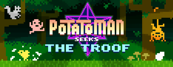 Potatoman Seeks the Troof Press Kit - Potatosophical Platforming Adventure for Ouya / Mac / PC / iOS feature image
